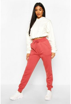 Womens Rose Tonal Skinny Sweat Jogger