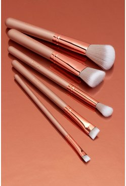 Nude Boohoo Ultimate Makeup Brush Set