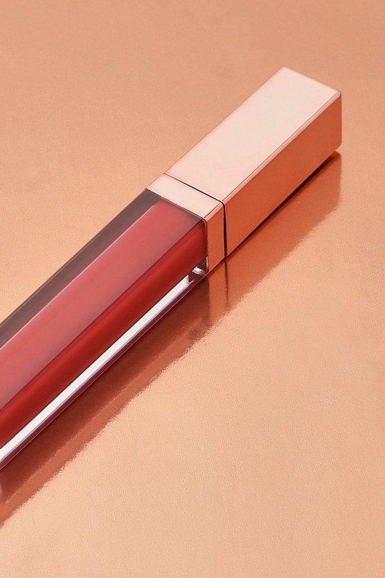 Boohoo Matte Liquid Lipstick - Lady In Red