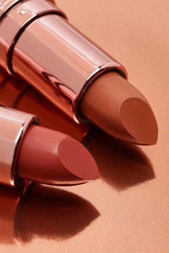 Boohoo Nude Lipstick Collection