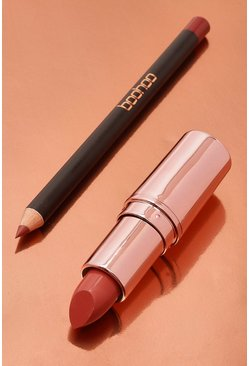 Kit de labios Boohoo In The Nude, Color carne