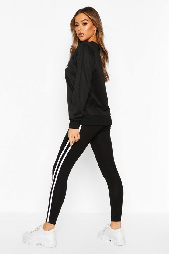 Woman Sweat & Legging Tracksuit Set