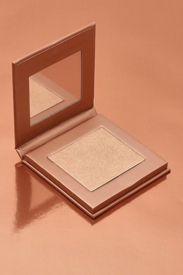 Nude Boohoo Glow Up Baked Highlighter - Medium
