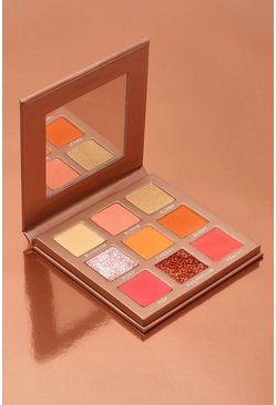 Womens Nude Boohoo Blush Kisses 9 Shade Eyeshadow Palette