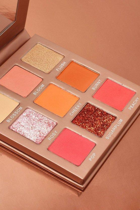 Boohoo Blush Kisses 9 Shade Eyeshadow Palette