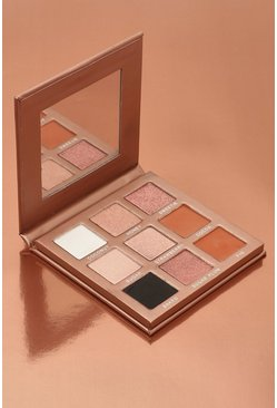Womens Nude Boohoo Chocolate Box 9 Shade Eyeshadow Palette