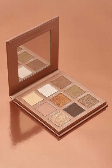 Boohoo In The Nude 9 Shade Eyeshadow Palette