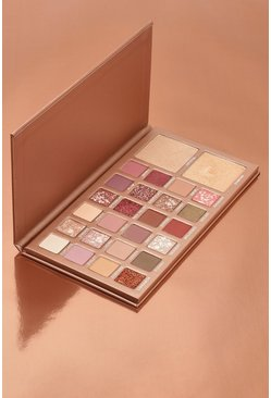 Boohoo Sweet Treats Eyeshadow & Glow Palette, Hautfarben, Damen