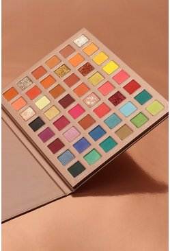 Womens Nude Boohoo Spectrum Eyeshadow Palette
