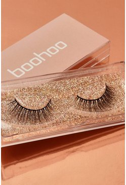 Womens Nude Boohoo Natural Lashes