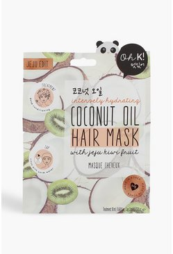 Womens White Oh K! Coconut Hair Mask