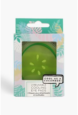 Green Cucumber Cooling Eye Pads
