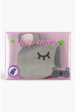 Grey Koala Sleep Mask