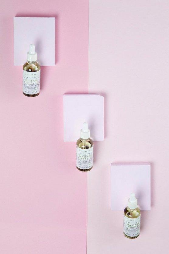 Sunday Rain Massage Oil White Jasmine