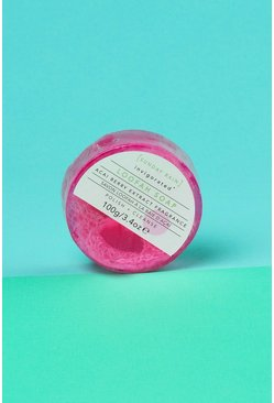 Womens Pink Sunday Rain Loofah Soap Acai Berry