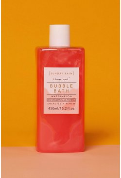 Pink Sunday Rain Bubble Bath Watermelon