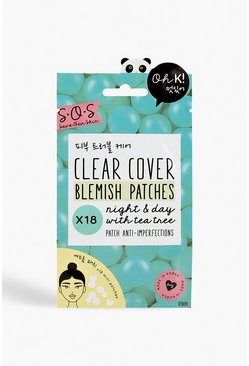 Womens Blue Oh K! SOS Clarifying Blemish Patches