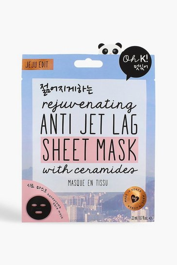 Blue Oh K! Jet Lag Face Mask