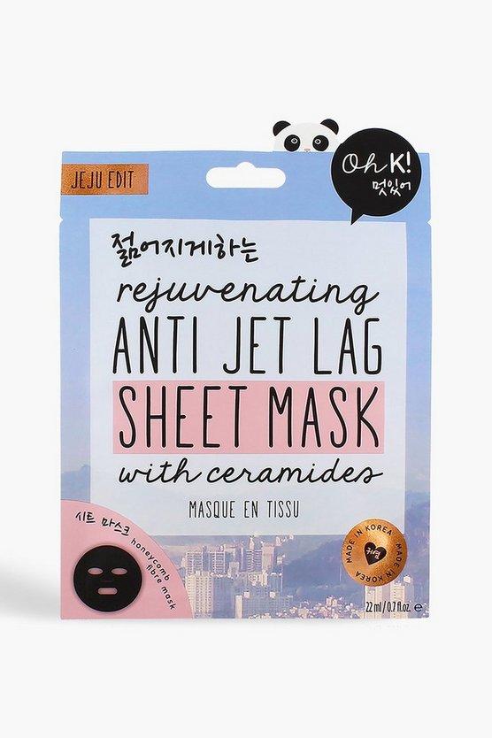 Oh K! Jet Lag Face Mask