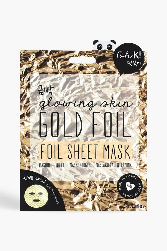 Oh K! Gold Foil Sheet Face Mask