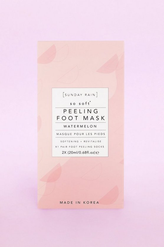 Sunday Rain Foot Mask Watermelon
