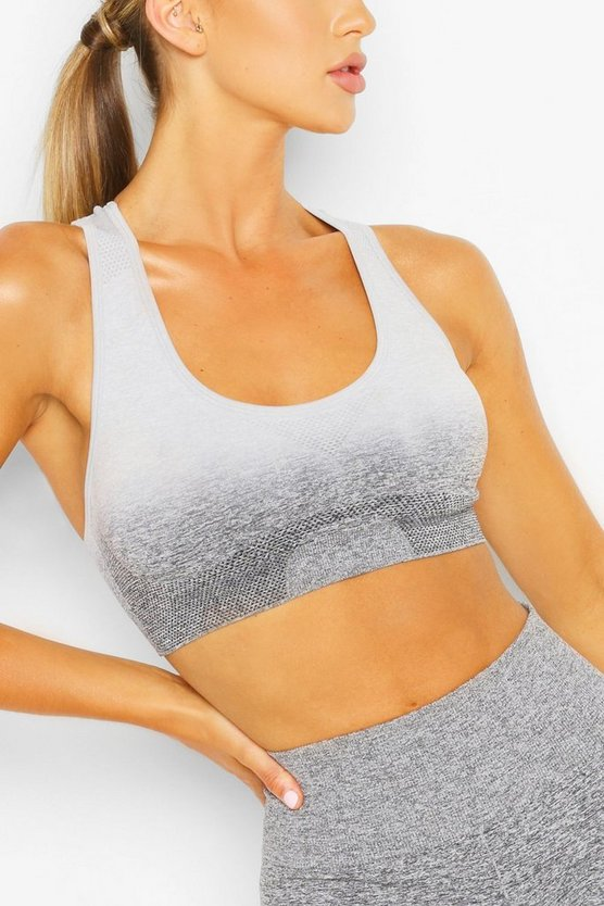 Fit Seamfree Ombre Medium Support Sports Bra