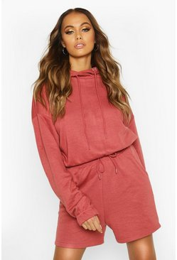 Rose Lounge Oversized Short