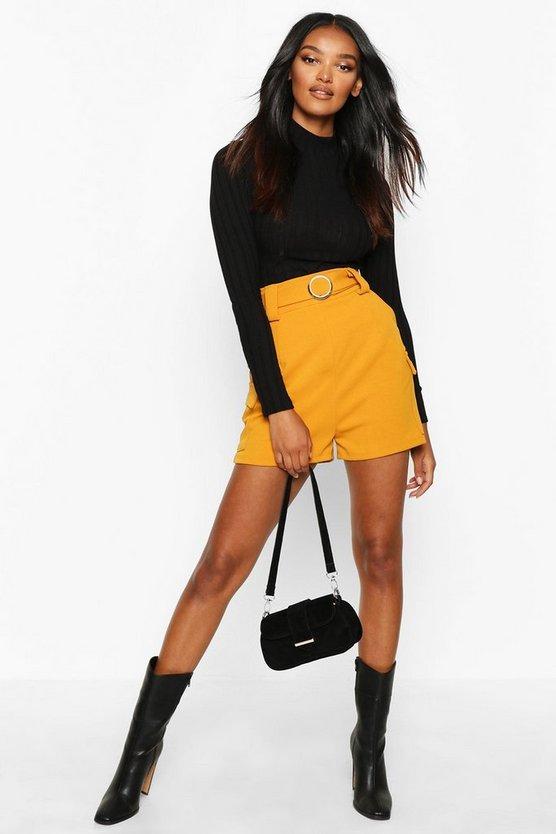 Gold O Ring Pocket Side Shorts