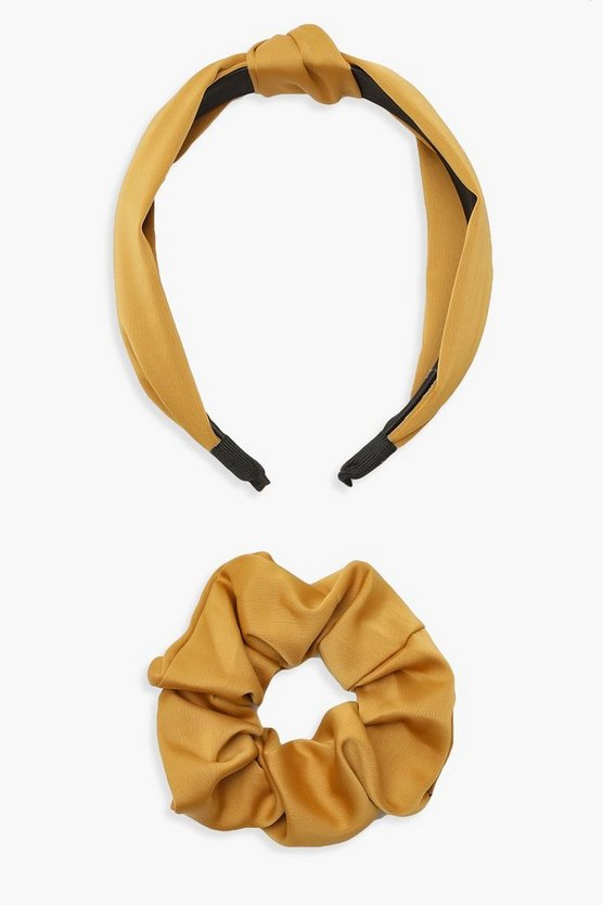 Scrunchie & Twist Knot Headband Pack