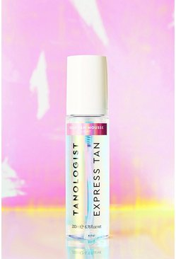Womens Clear Tanologist Vegan Self Tan Mousse - Light
