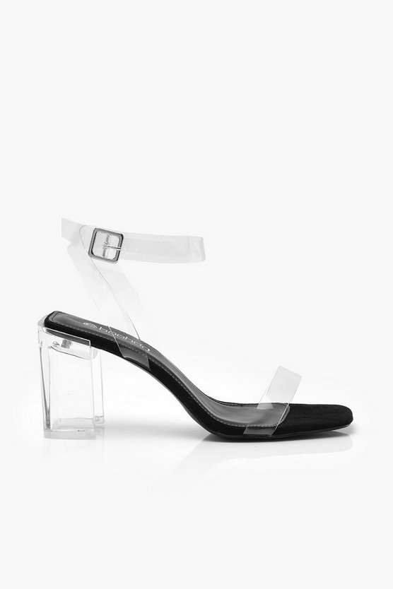 Interest Clear Heel 2 Parts