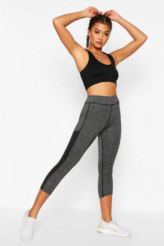 Fit Pocket Detail Gym Leggings