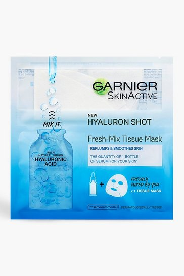 White Garnier Face Mask With Hyaluronic Acid