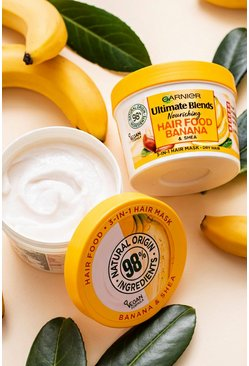 Womens Yellow Garnier Ultimate Blends Hair Food Mask Banana 390ml