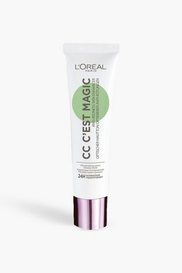 Womens White L'Oreal Paris C'est Magic CC Cream Anti-Red