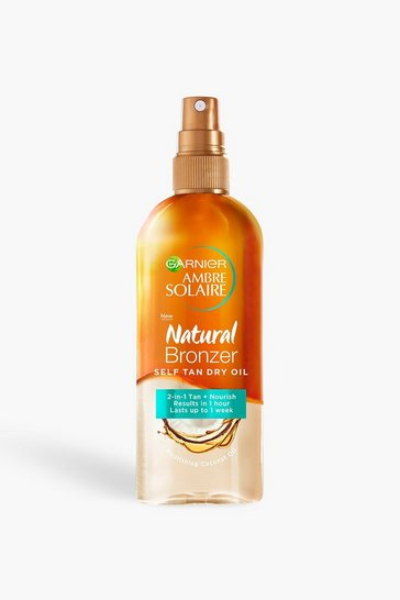 Womens Garnier Ambre Solaire Natural Self Tan Oil 150ml