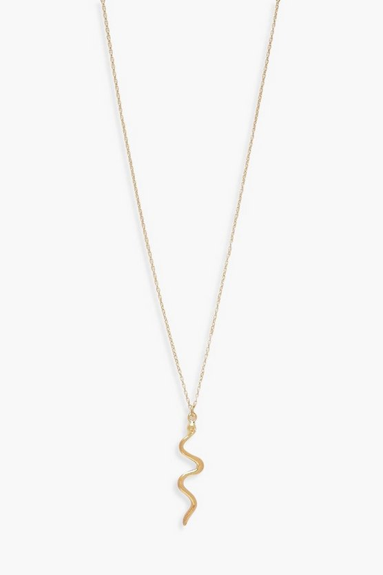 Snake Delicate Necklace