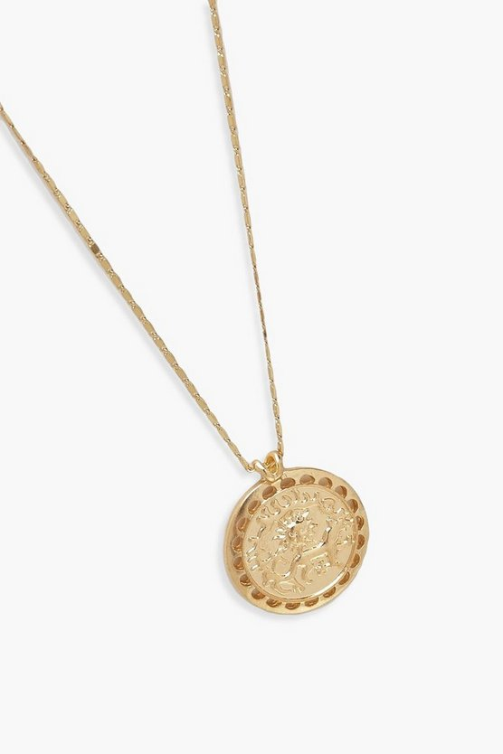 Coin Detail Necklace