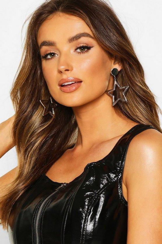 Statement Star Earrings