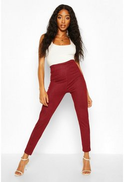 Womens Berry Contour Waist Basic Jeggings