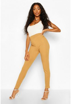 Camel Contour Waist Basic Jeggings