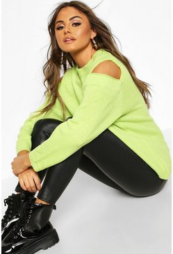 Neon-green Oversized Jumper