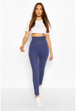 Mid blue Contour Waist Basic Jeggings
