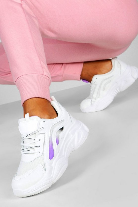 Colour Pop Chunky Sole Trainers