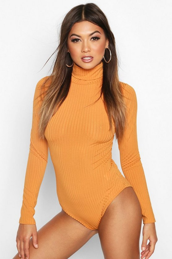 Copper Ribbed High Neck Body
