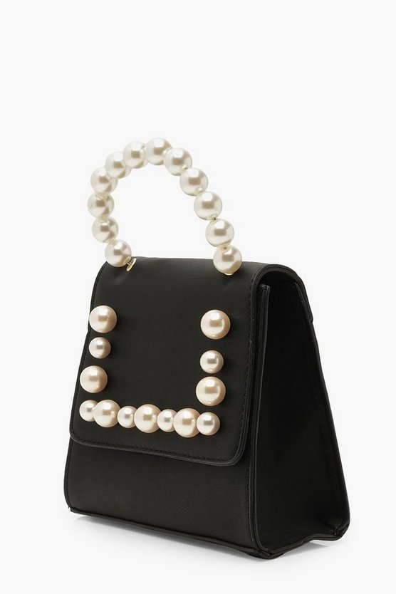 Pearl Handle Mini Structured Grab Bag