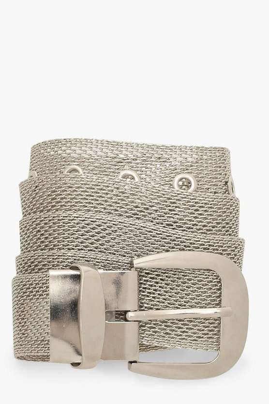 Chainmail Buckle Belt