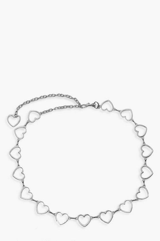 Heart Detail Chain Belt