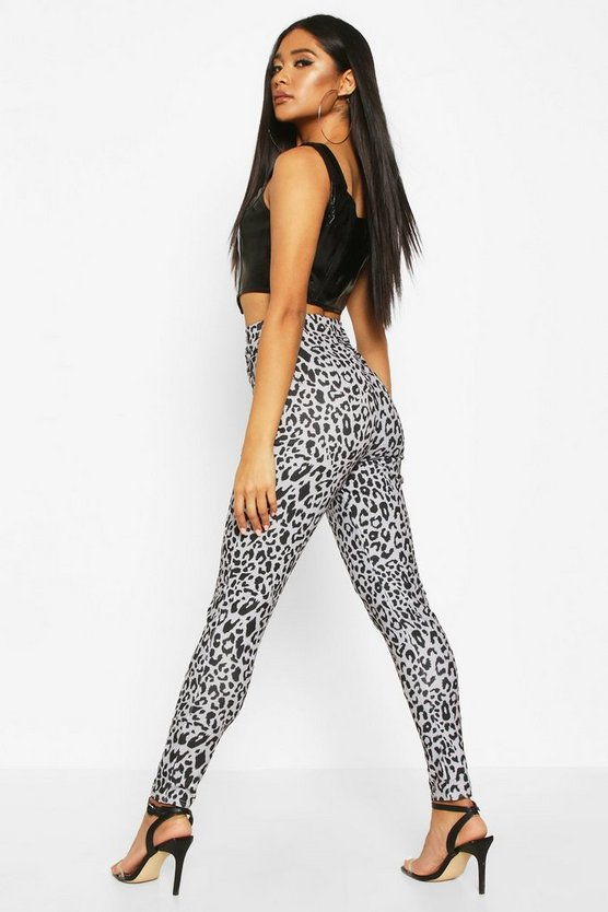 Leopard Printed Skinny Trouser