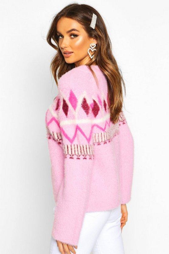 Fluffy Christmas Knit Jumper